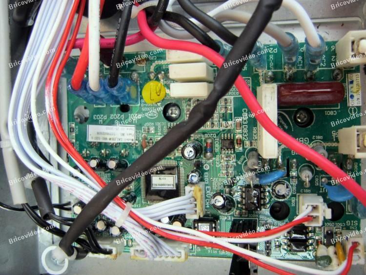 1 panne carte electronique climatiseur inverter