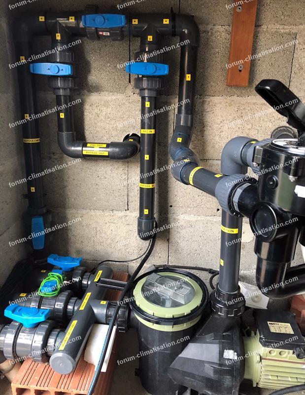 alimentation électrique pour pompe à chaleur
