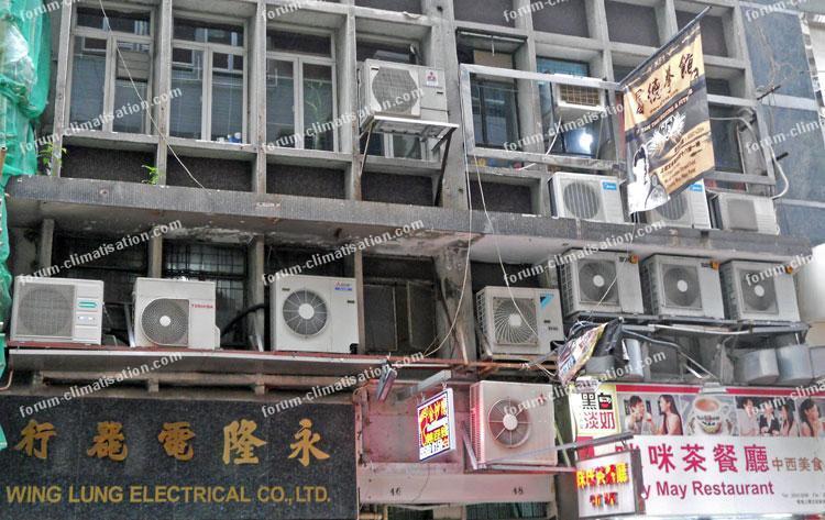 climatiseurs à Hong Kong - forum climatisation Bricovidéo