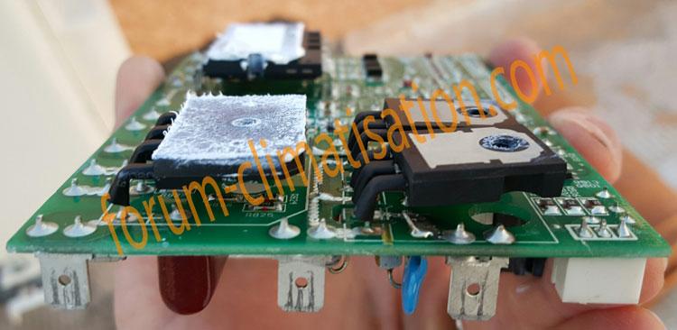 dépannage carte électronique climatiseur Carrera
