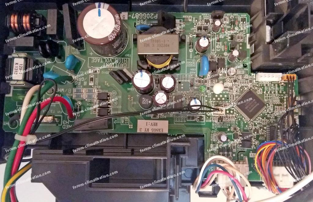 carte climatisation Daikin FTXS35K2V1B
