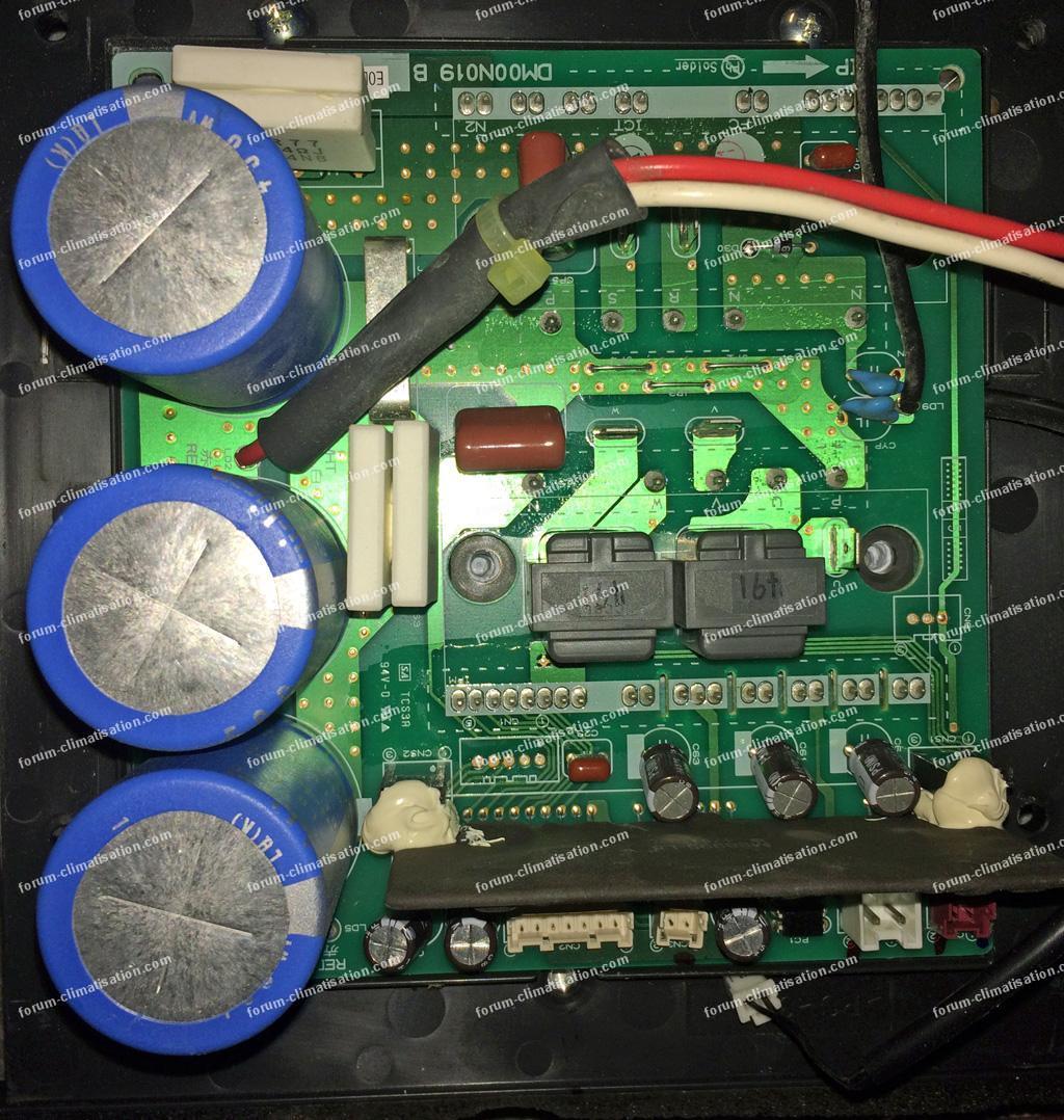 dépannage carte clim Mitsubishi MXZ-5D102VA