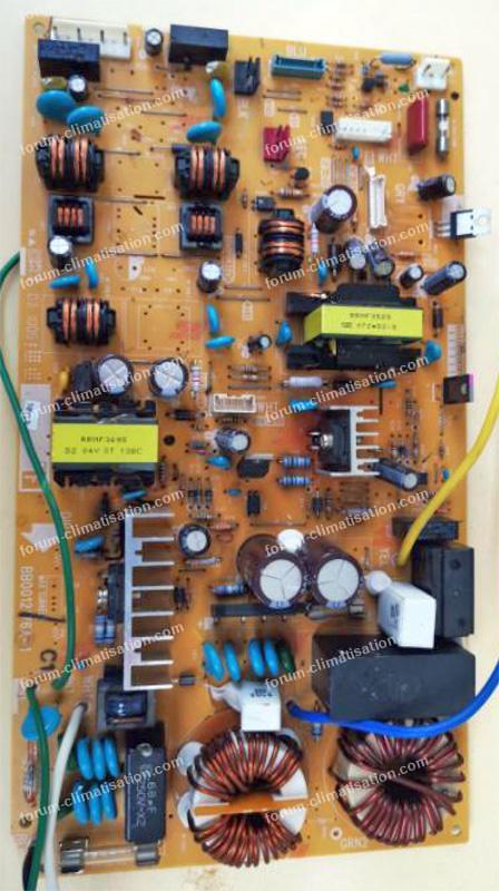 carte climatisation Hitachi RAM 52QH5