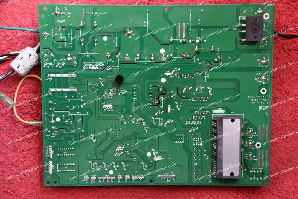 carte électronique clim inverter Hiyasu Fujitsu