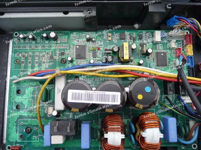 dépannage carte clim Samsung MH080FXEA4