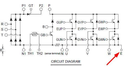 Circuit diagram CM50AD00 12H