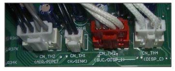clim LG capteurs