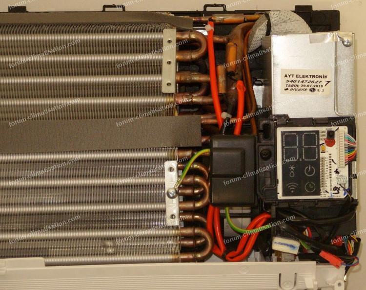 climatisation LG unité intérieure