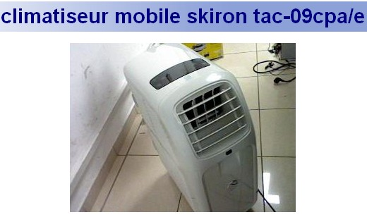 Notice climatiseur skiron