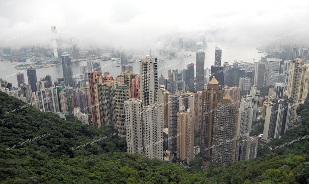 climatisation à Hong Kong