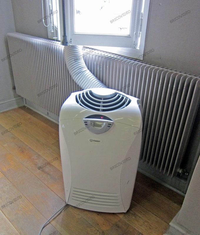 Dépannage Climatisation Schéma évacuation Climatiseur Mobile