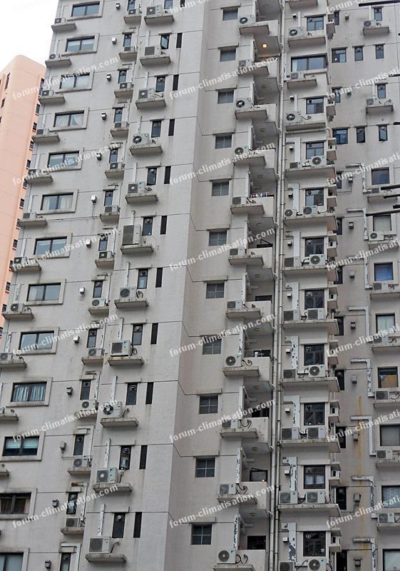 climatiseurs à Hong Kong