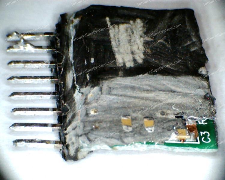 composants circuit clim Aux