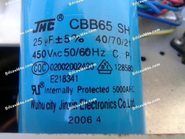 condensateur compresseur clim Mitsubishi