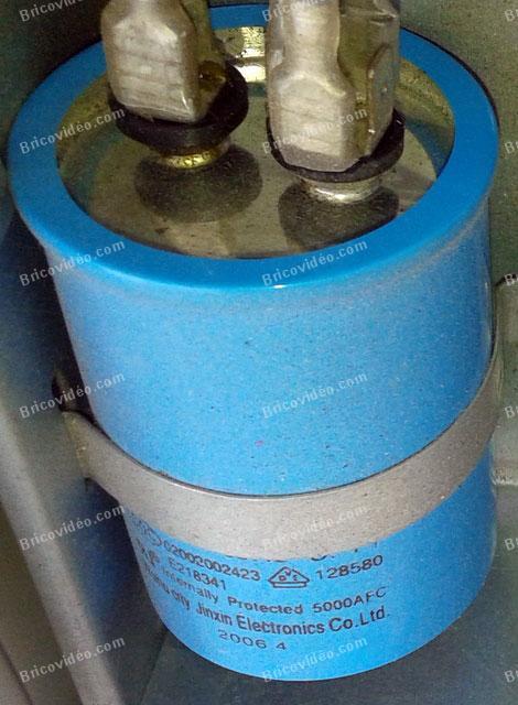 condensateur de démarrage moteur