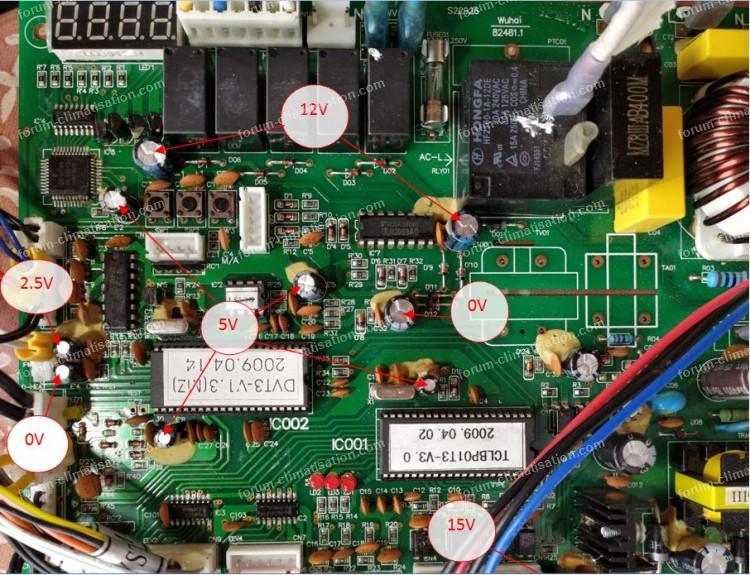 condensateur pcb