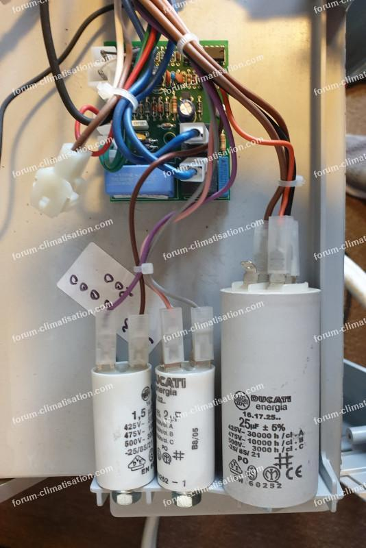condensateurs clim mobile York