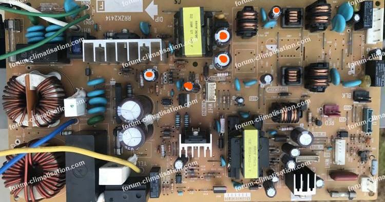 condensateurs carte clim Hitachi