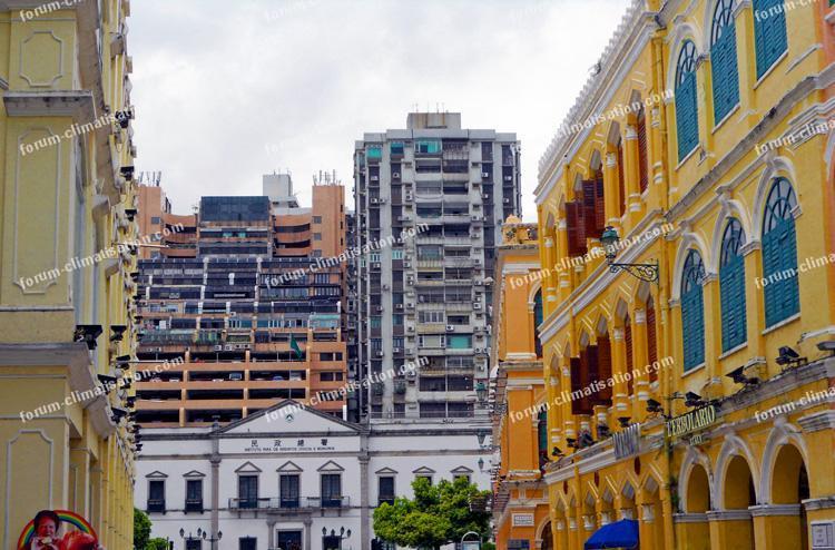 contraste architecture Macao