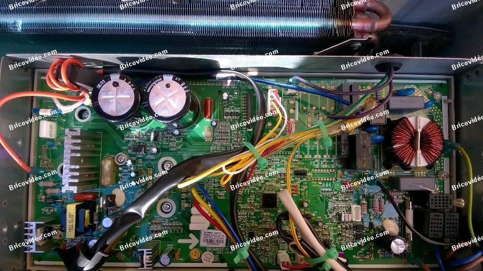 Dépannage cilm réversibles Inverter Electrolux EXI12HL1W
