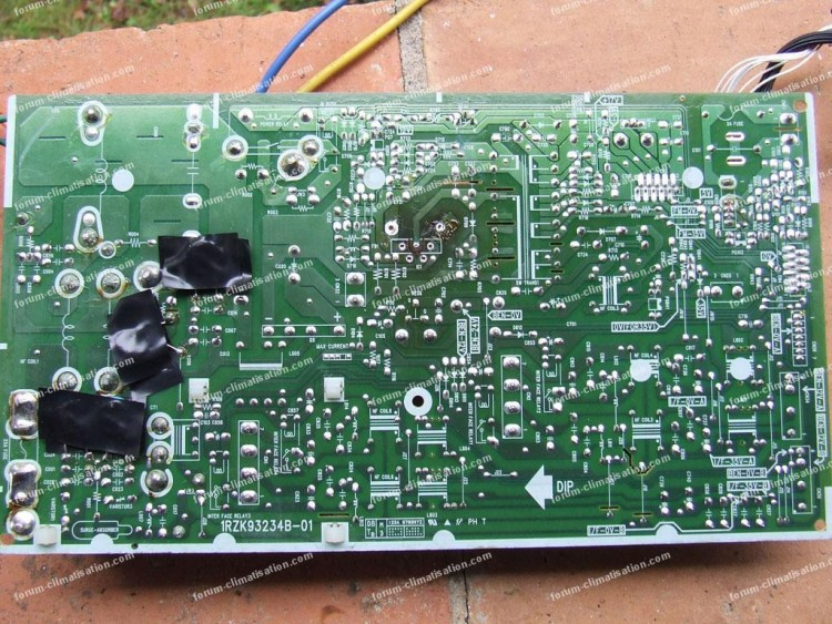 Dépannage carte électronique  clim Hitachi RAM 55 QH 5
