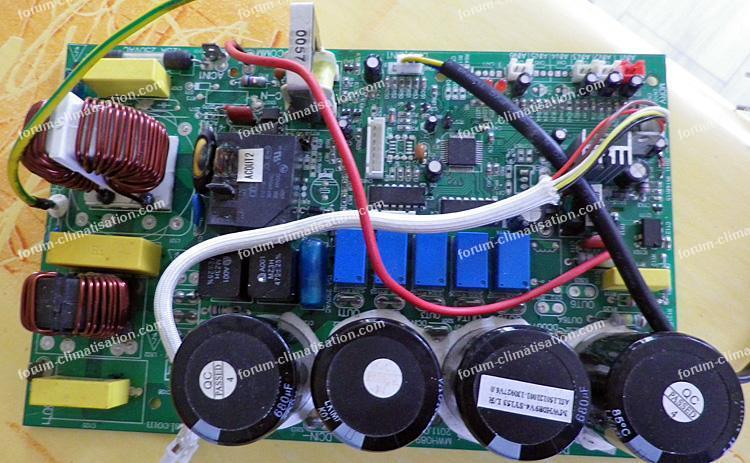dépannage carte électronique pompe à chaleur
