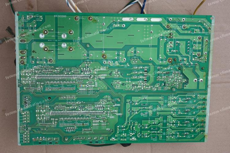 dépannage carte PAC Hitachi RAM80-QH5