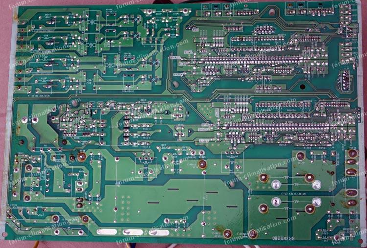 dépannage carte pac Hitachi ram80 qh5