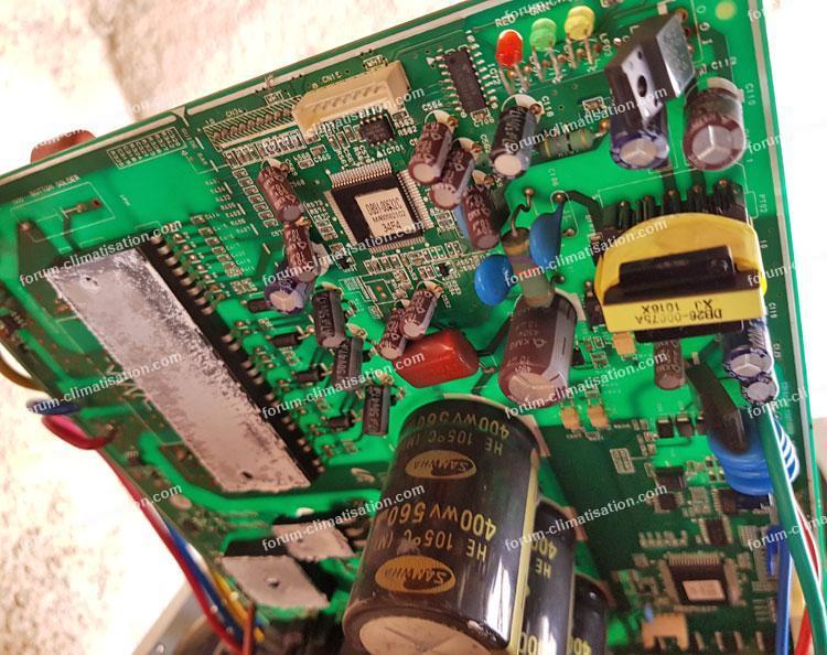 dépannage carte UE clim Samsung UH070EAV1