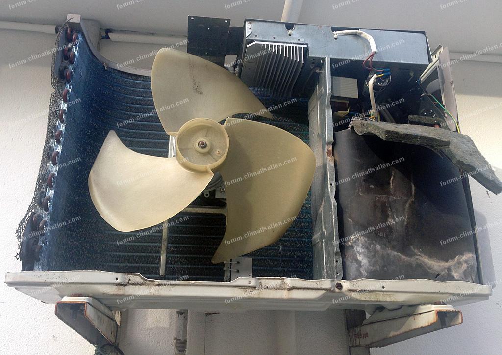 dépannage climatisation | climatiseur westpoint qui ne fait plus
