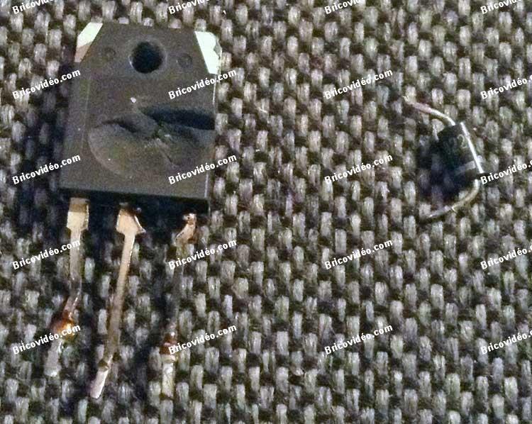 dépannage carte mère clim IGBT et diode