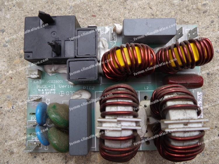 Dépannage power board clim Airton