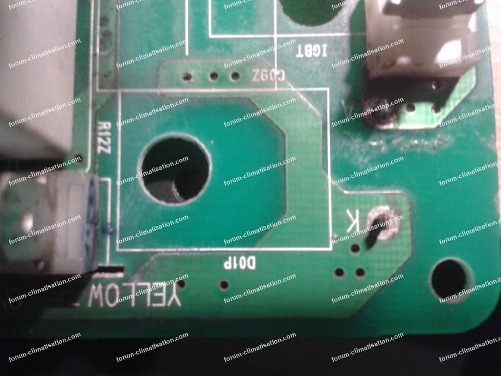 dépanner carte climatisation inverter LG