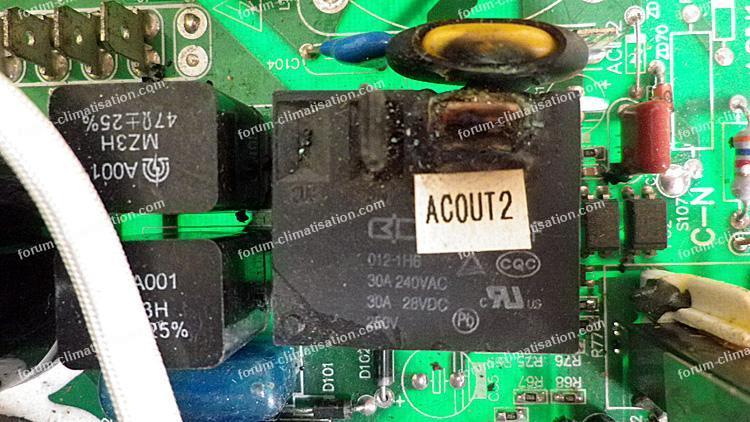 dépanner carte électronique pompe à chaleur