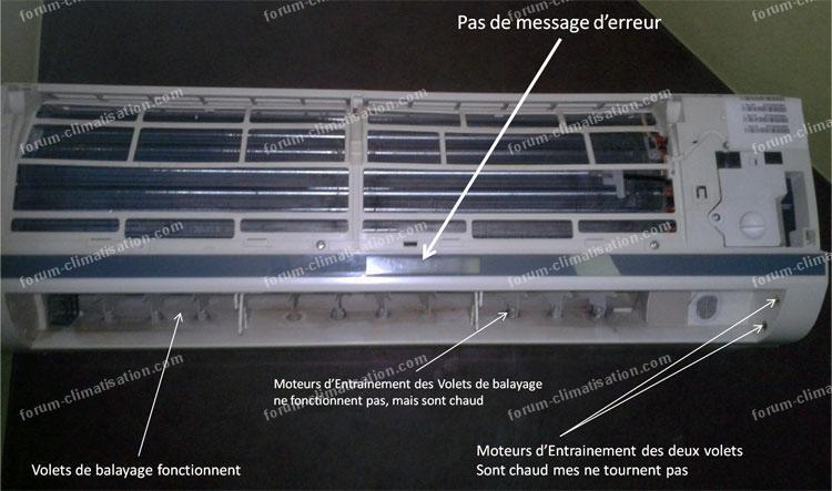 Dépannage split Airton HSM 1-2RH03/R2DB