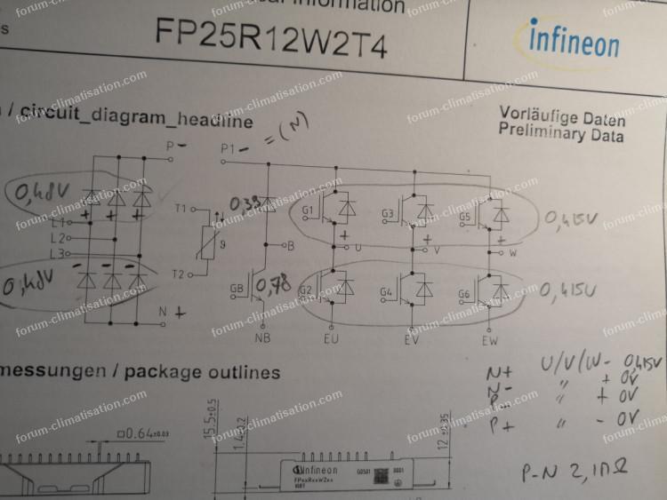 diodes fp25r12w2t4 clim LG