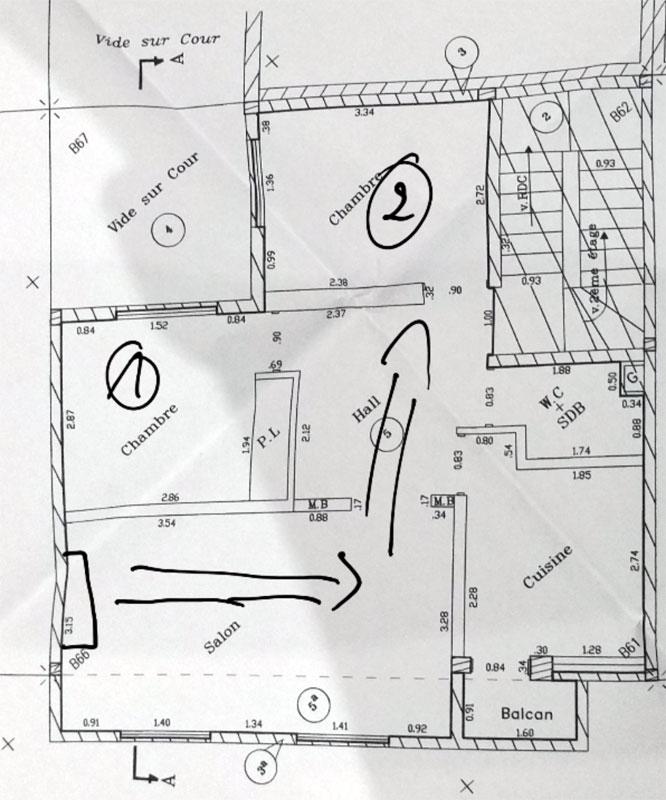 emplacement id al pour une unit int rieure forum climatisation. Black Bedroom Furniture Sets. Home Design Ideas