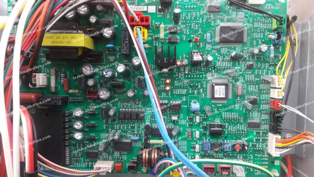 erreur E04 pompe à chaleur Sanyo