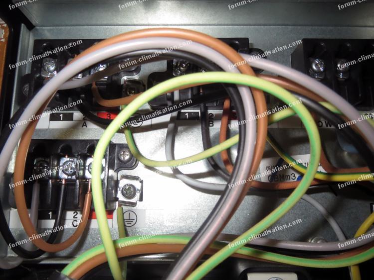 panne unité extérieure Daikin 3MXS52E