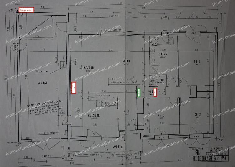 forum climatisation plan maison installation pac air air