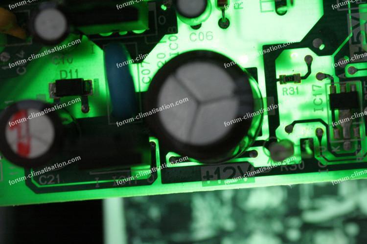 forum dépannage carte clim Toshiba
