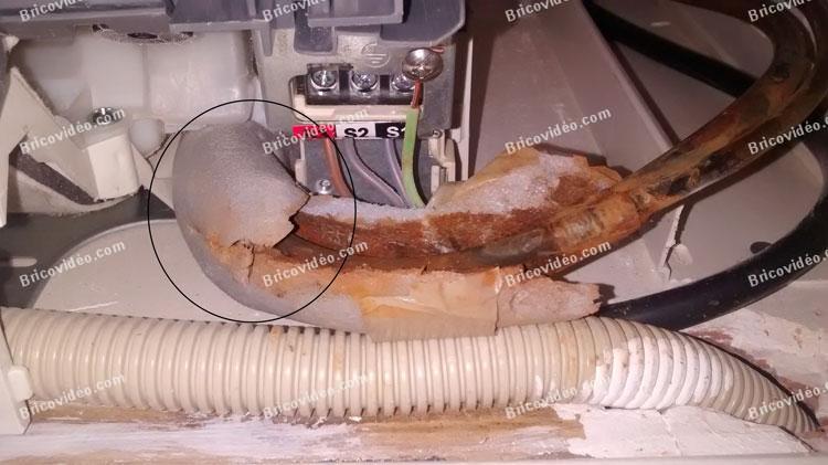 bricovid o d pannage climatisation fuite au niveau des cuivres climatisation mitsubishi msz ga. Black Bedroom Furniture Sets. Home Design Ideas