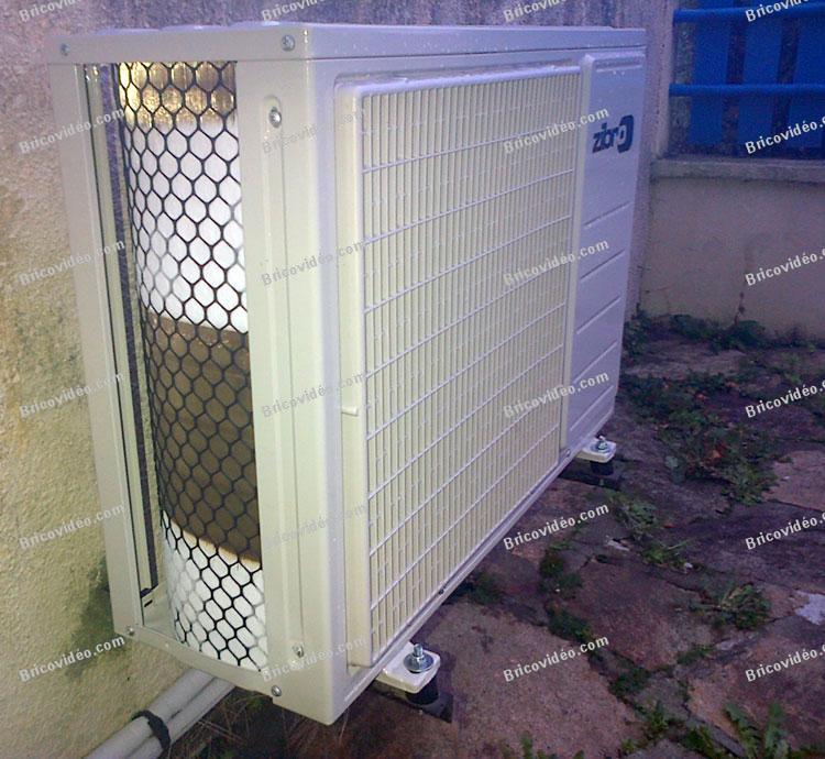 Problème givre climatiseur Zibro