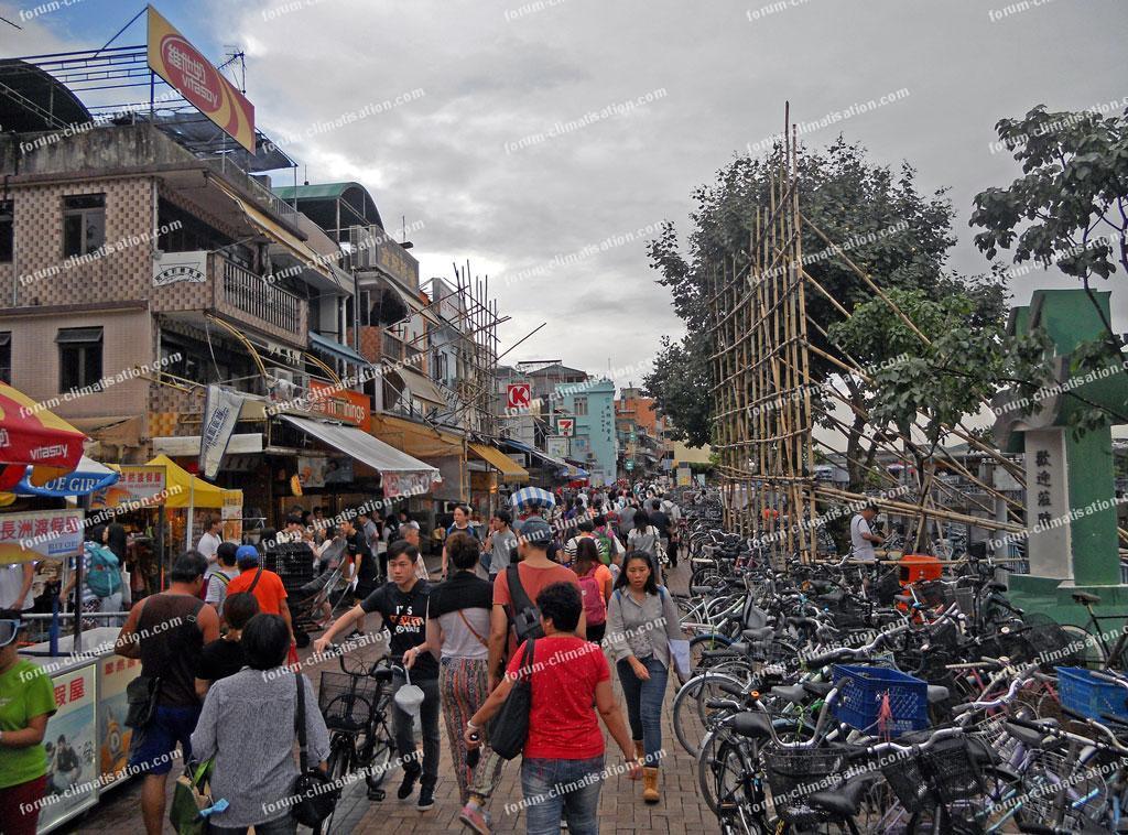 hong Kong île de Cheung Chau