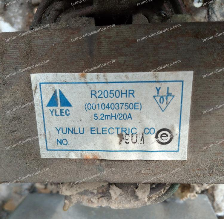 inductance ou self 5,2 mH