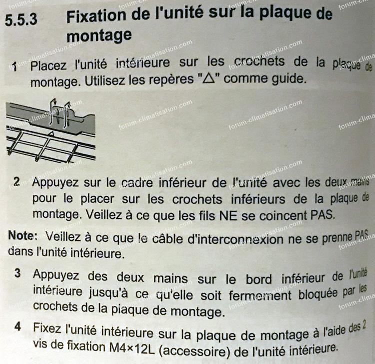 conseils installation clim Daikin FTXA25A