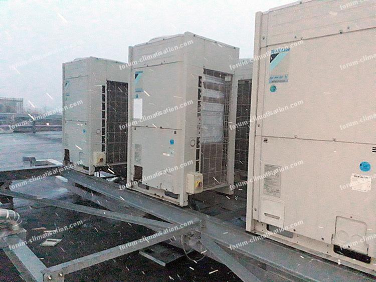 Installation climatisation secteur tertiaire