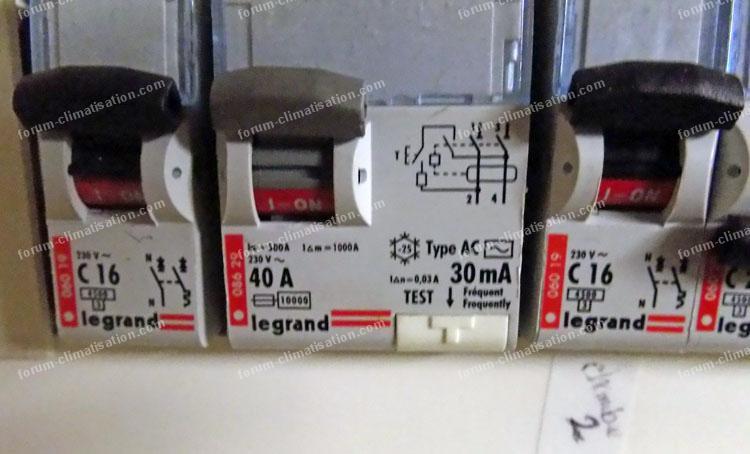 installation électrique climatisation