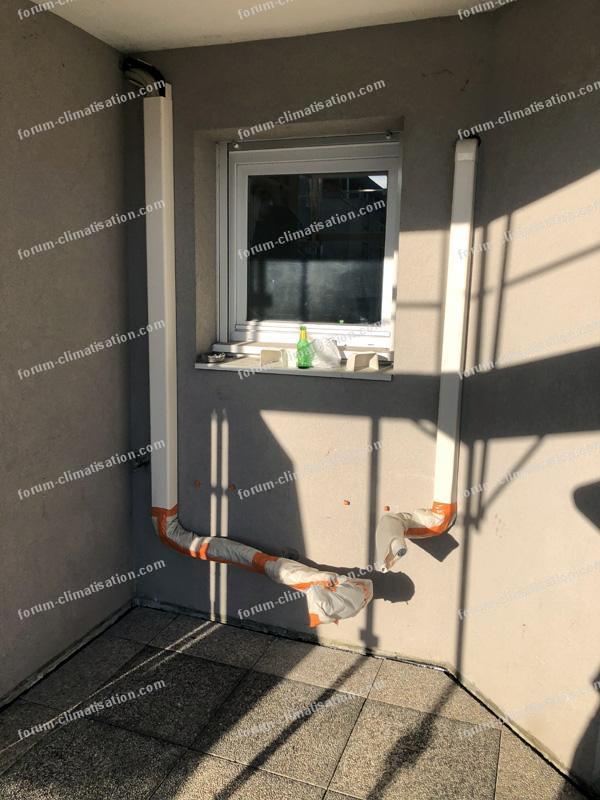 isolation extérieure liaisons frigorifiques