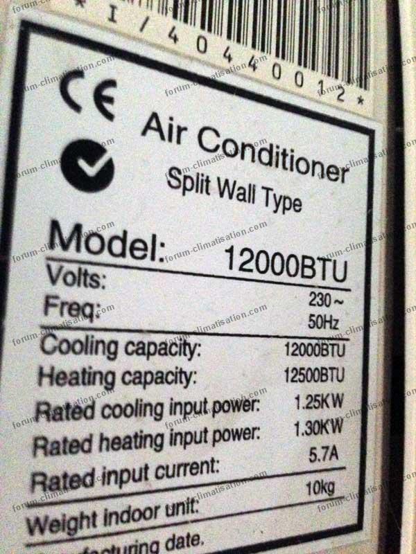 marque climatiseur ?